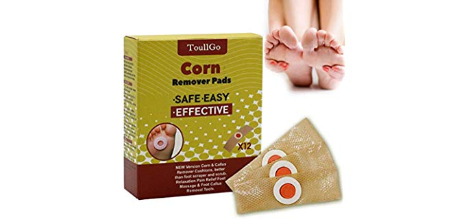 TOULLGO Unisex Corn Remover - Corn Remover for Toes and Feet