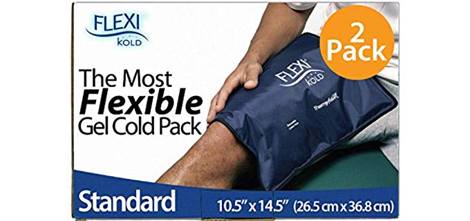 FlexiKold Unisex Gel - Foot and Ankle Ice Wrap