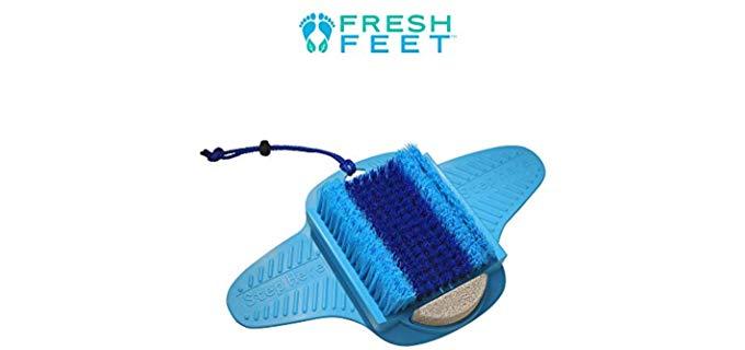 Allstar Innovations Unisex Fresh Feet - Foot Scrubber for The Shower