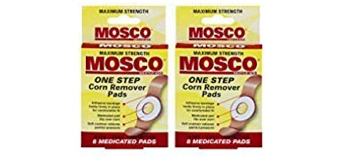 Moscow Unisex One Step Medicated - Fast Remover for Corns on Your Toes