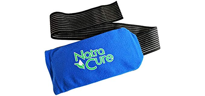 NatraCure Unisex Universal - Flexible Foot And Ankle Ice Wrap