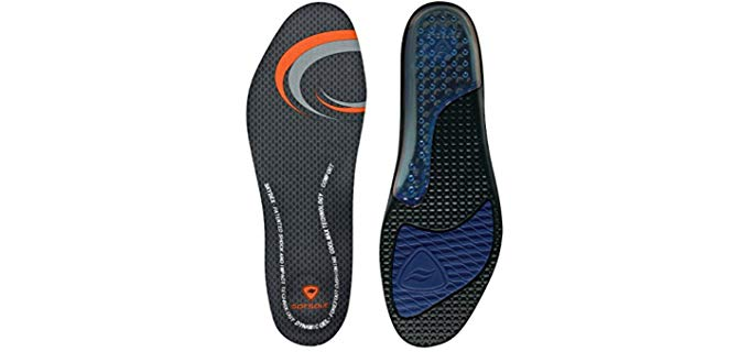 Sof Sole Unisex Performance Insoles - Firm Gel Insoles for Athletes