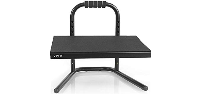 VIVO Unisex Ergonomic - Adjustable Under Desk Footrest