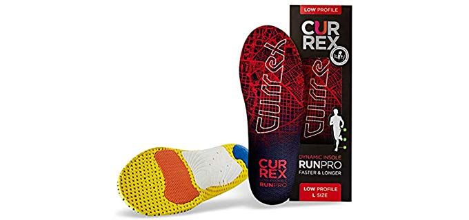 Currex Sole Unisex Low Arch - Running and Walking Shoe Insoles